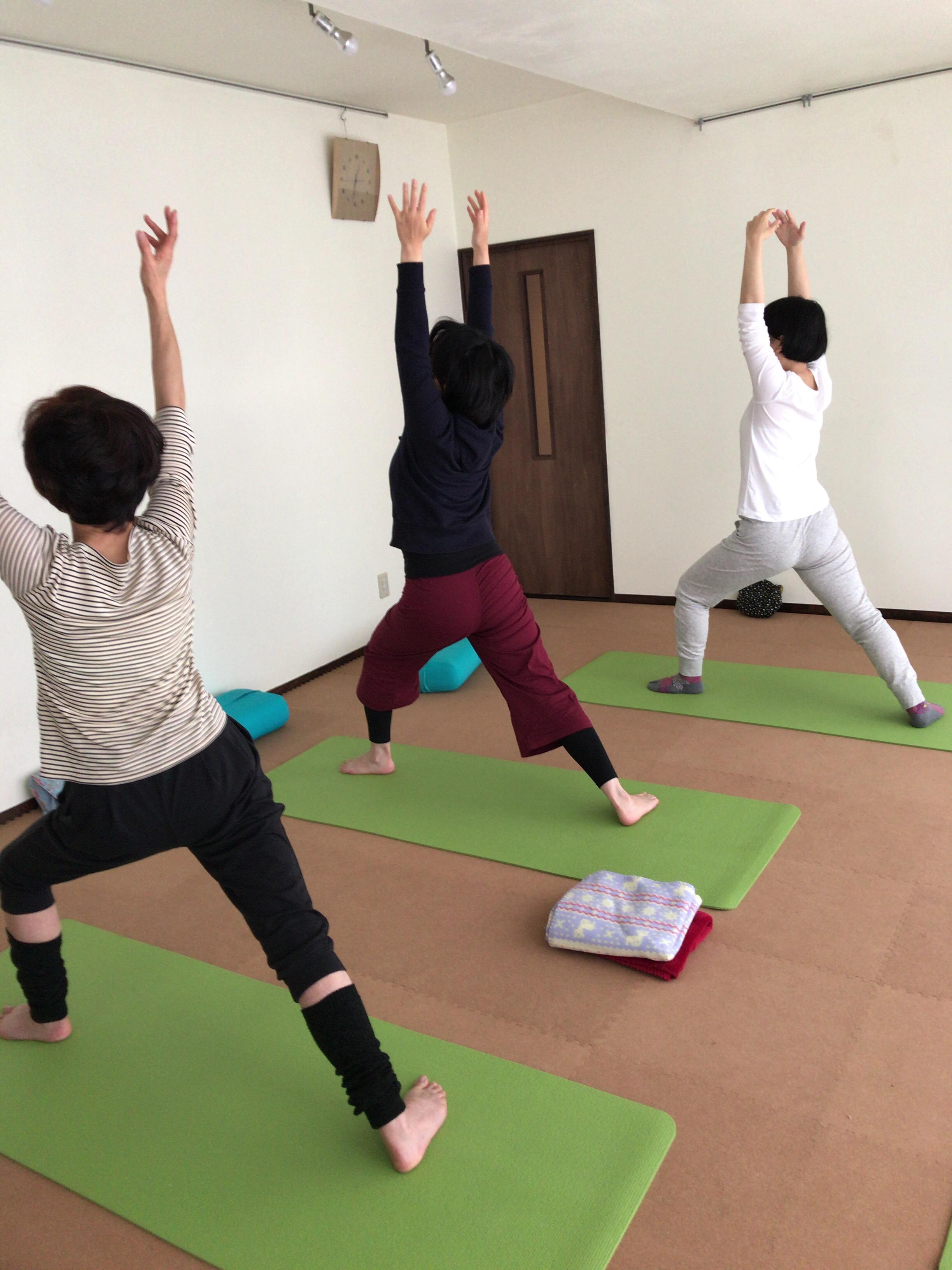 【札幌円山ヨガスタジオアウラ】201710_第2週