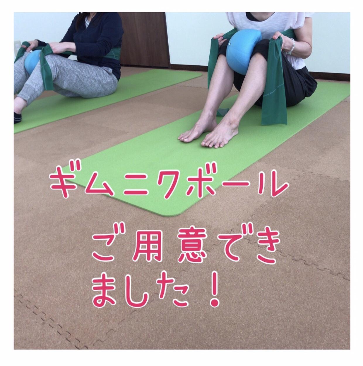 【札幌円山ヨガスタジオアウラ】ギムニクボール販売します