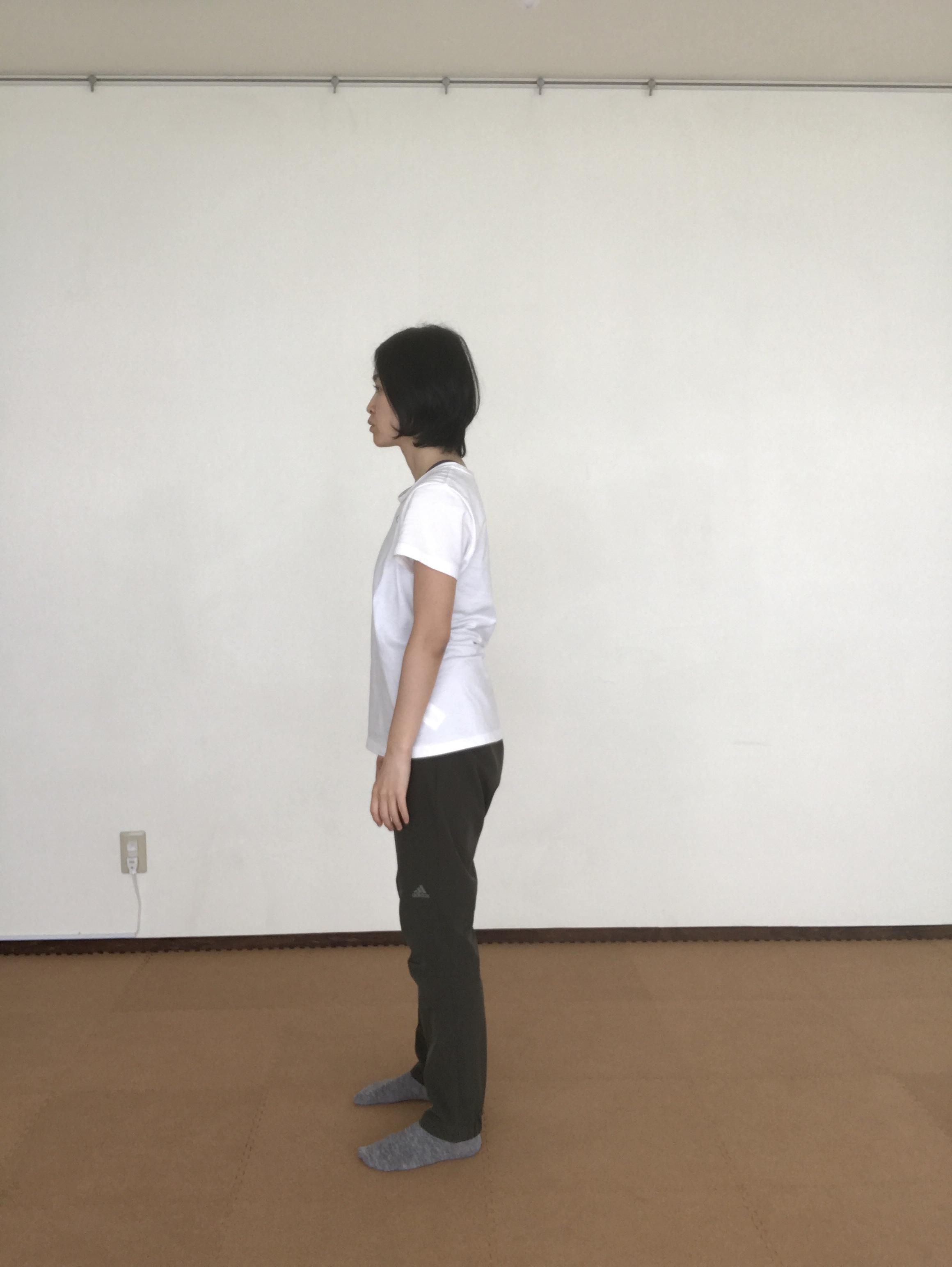 【体は変わる】ロールダウン